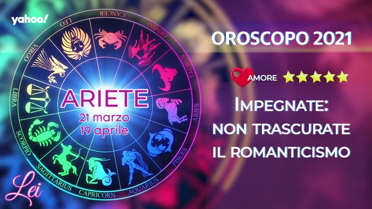 Oroscopo 2021 LEI: Ariete