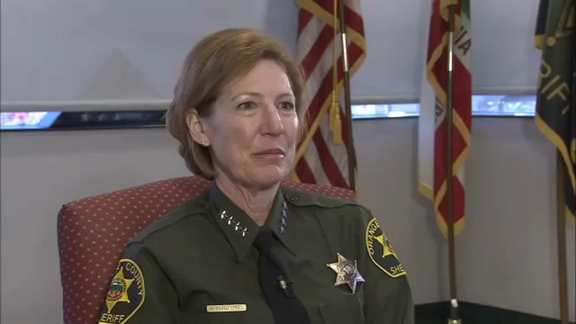 Former OC Sheriff Sandra Hutchens dies after breast cancer battle