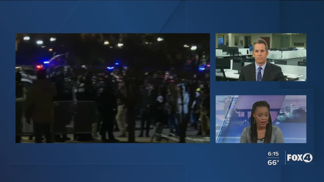 Woman shot inside Capitol during riot ...