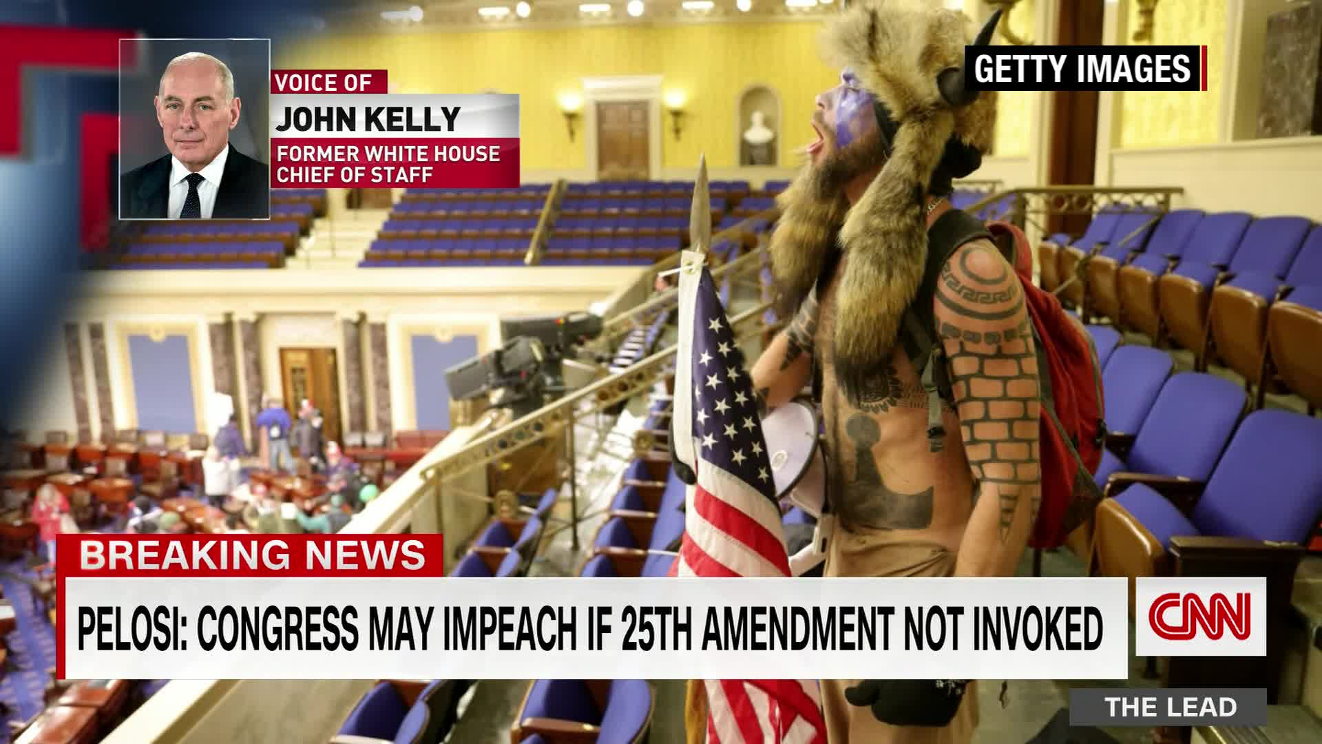 John Kelly says he would vote to invoke 25th Amendment