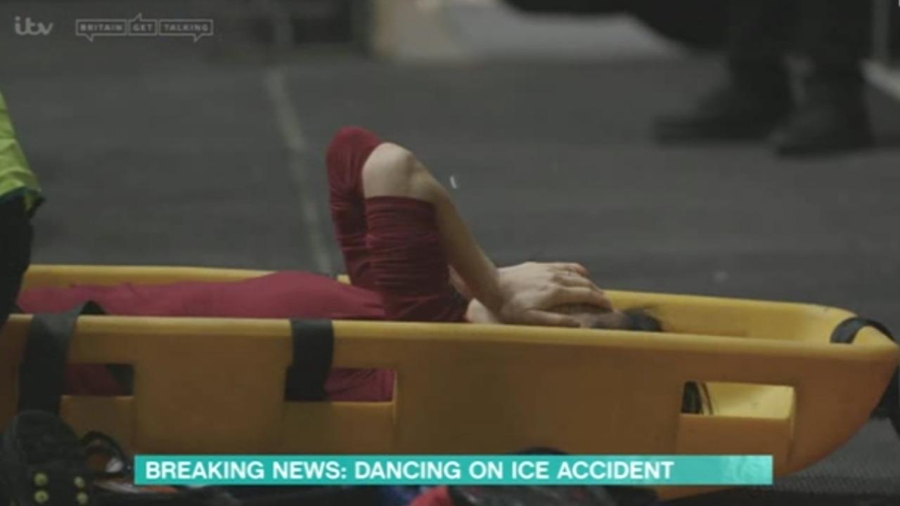 Dancing On Ice skater injured in 'FREAK ACCIDENT'