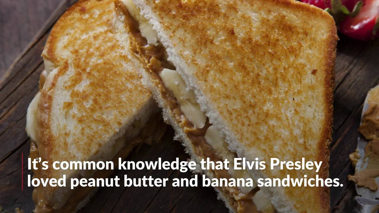 Elvis Presley Was So Much More Obsessed With The Peanut Butter And Banana Sandwich Than We