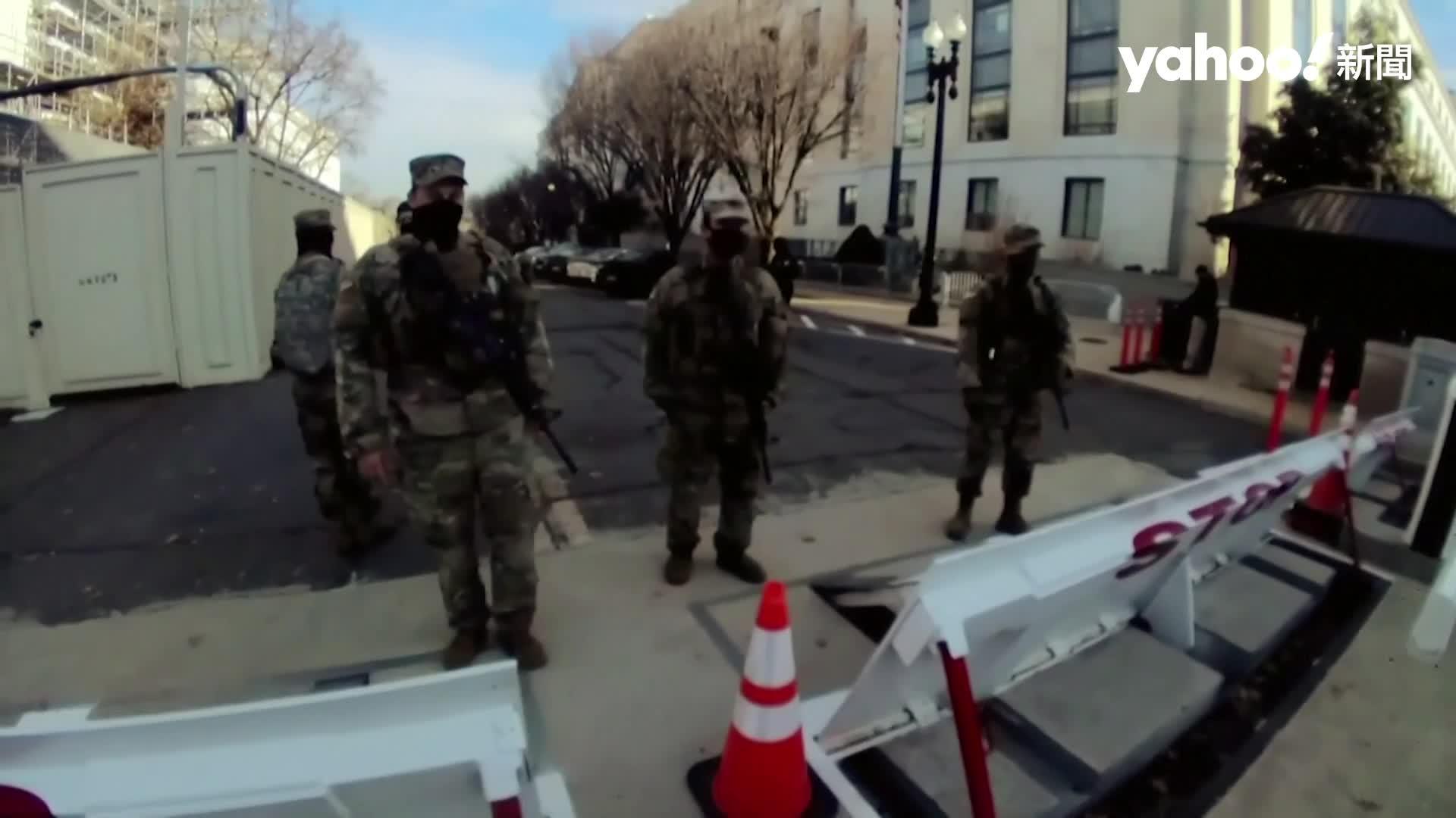 美眾議院通過彈劾川普!拜登就職逼近 大批國民兵睡國會大廈防暴動
