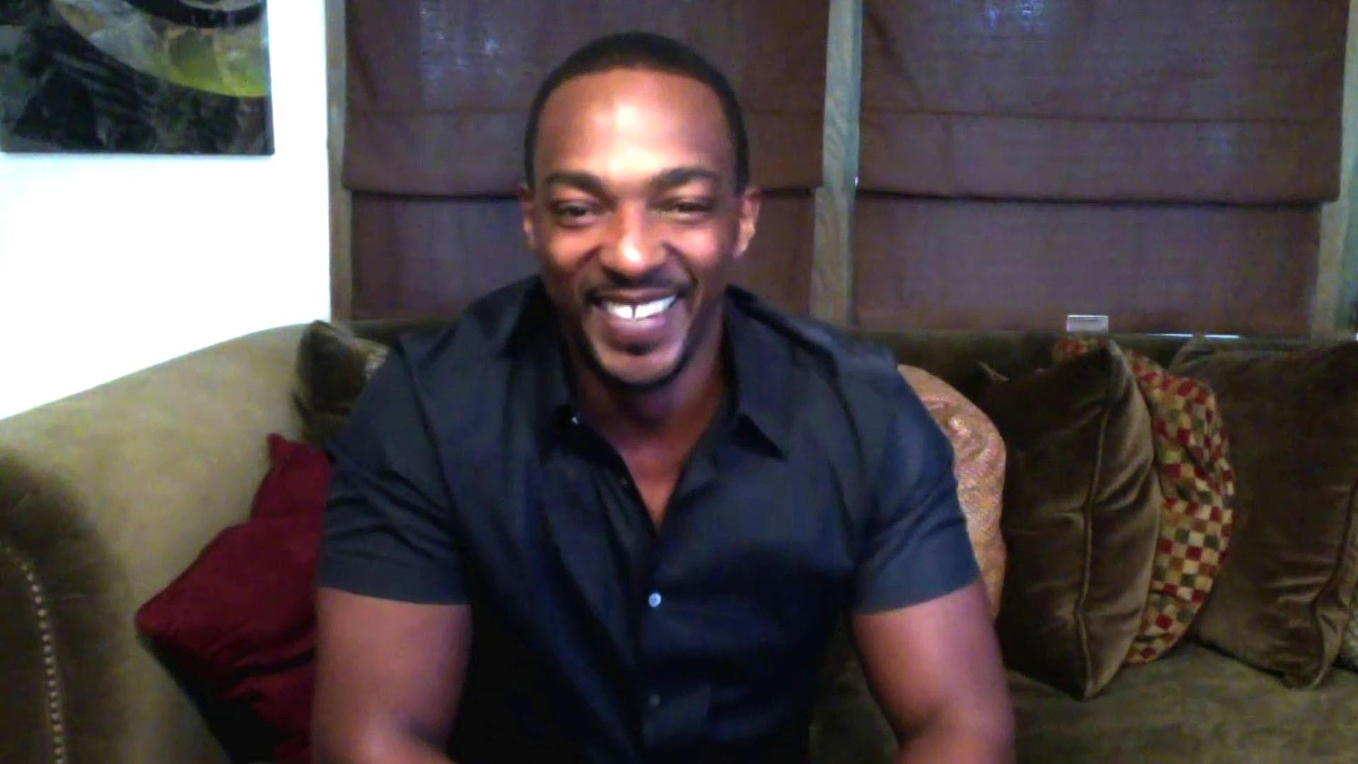 news.yahoo.com: Anthony Mackie talks about film 'Outside the Wire'