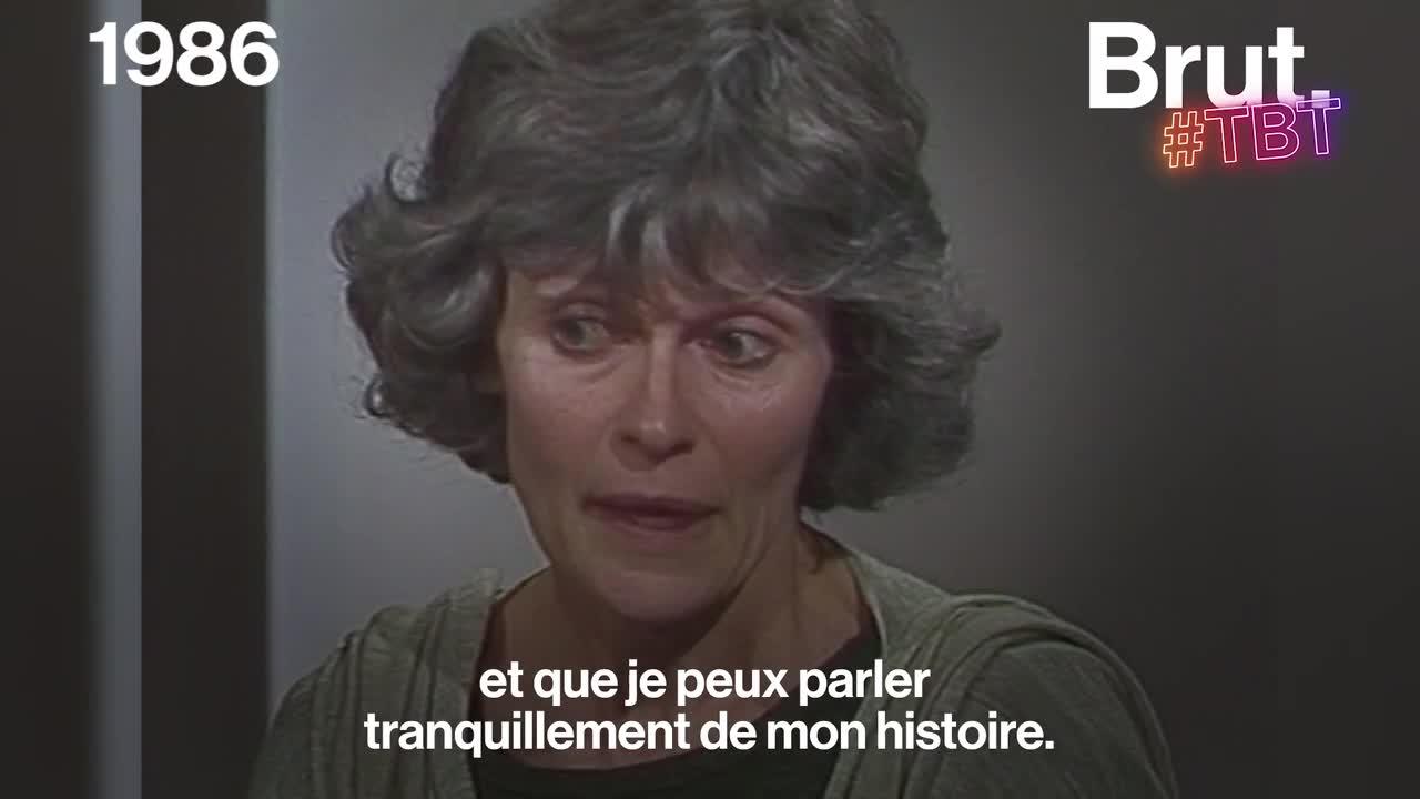 VIDEO. En 1986, une victime d'inceste témoigne pour la première fois à la télévision