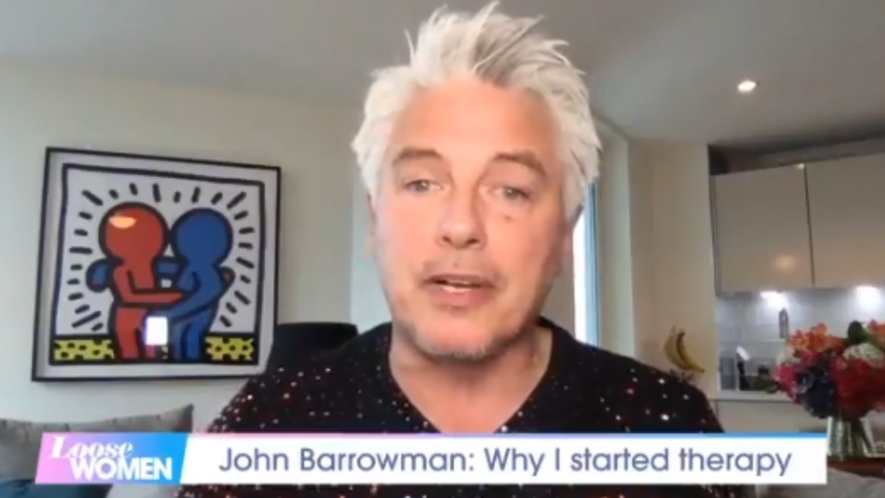 John Barrowman opens up about mental health struggles