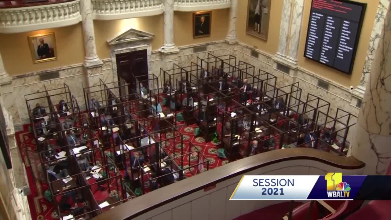 Maryland Senate votes to override 16 of governor's vetoes