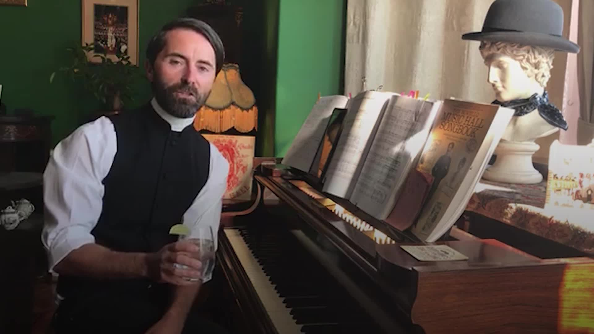 Bartender Turned Vicar Has Raised Spirits With Online Pimms And Hymns Lockdown Singalongs