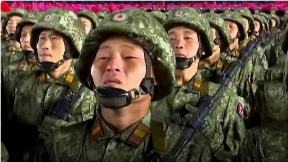 朝鮮大閲兵:金正恩在拜登就職前宣稱美國是「最大敵人」