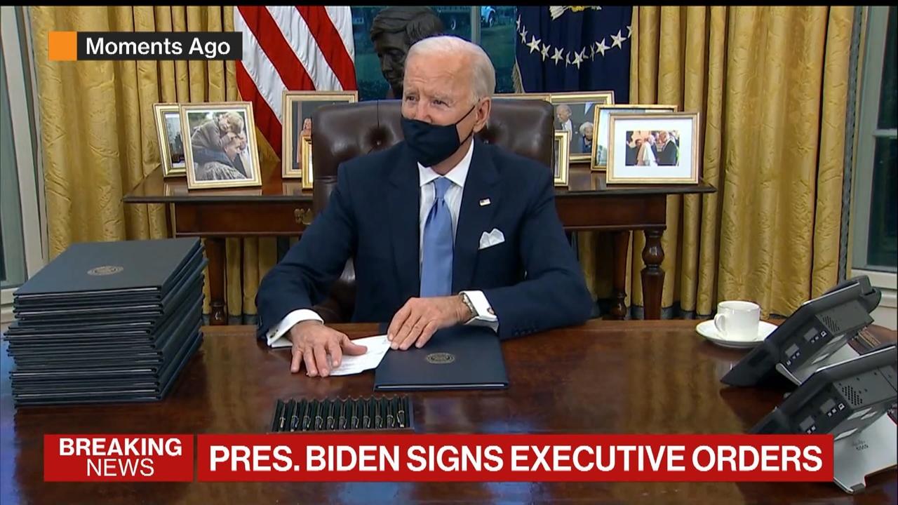 Biden Says Trump Left Him a Generous Letter -