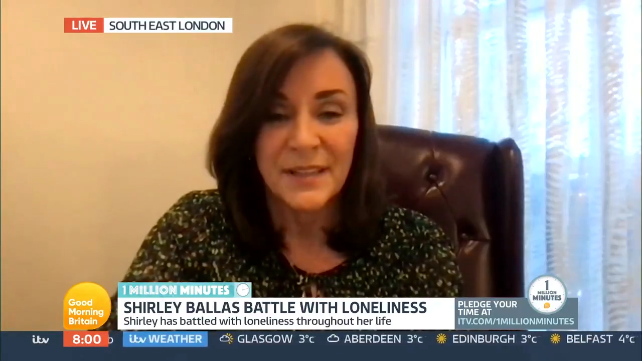'It's something I've struggled with' Shirley Ballas opens up about loneliness