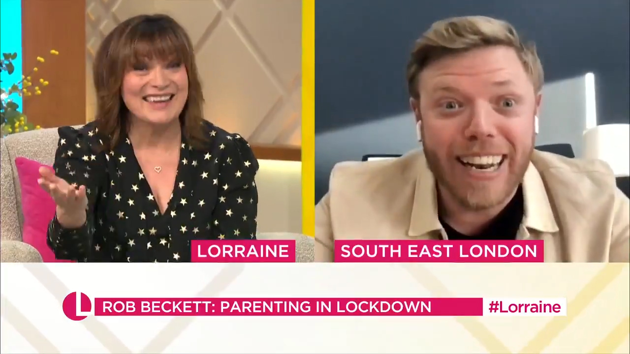 Rob Beckett's hilarious description of homeschooling will have you in stitches