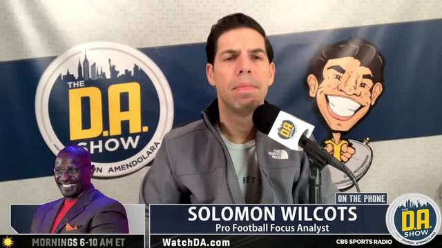 Solomon Wilcots is frustrated Bienemy can't land a head coaching job I D.A. on CBS - Yahoo News