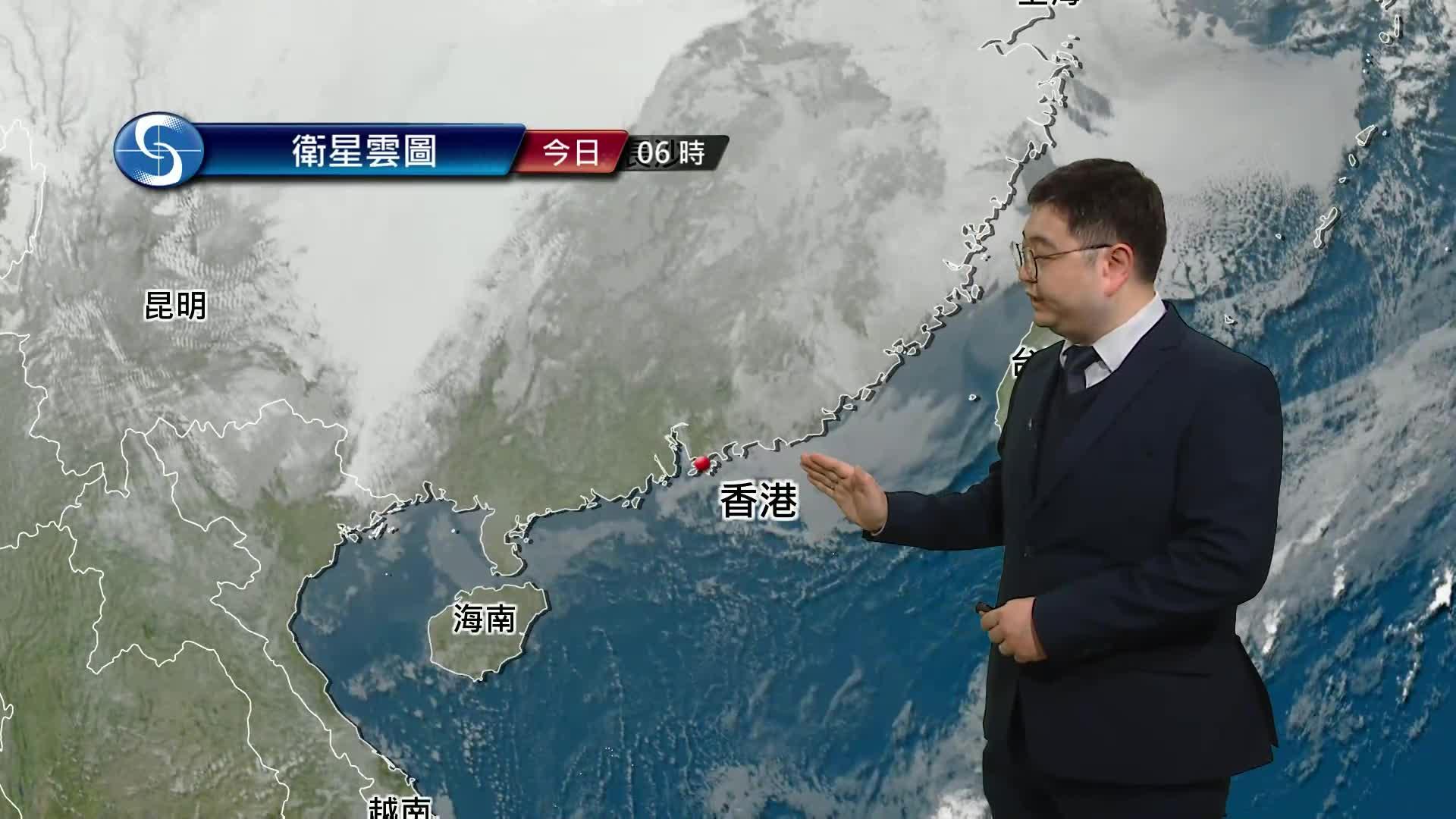 早晨天氣節目(01月24日上午8時) - 學術主任鄭仲材