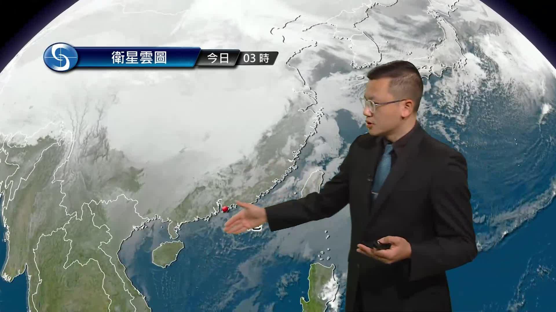 早晨天氣節目(01月25日上午8時) - 科學主任陳兆偉