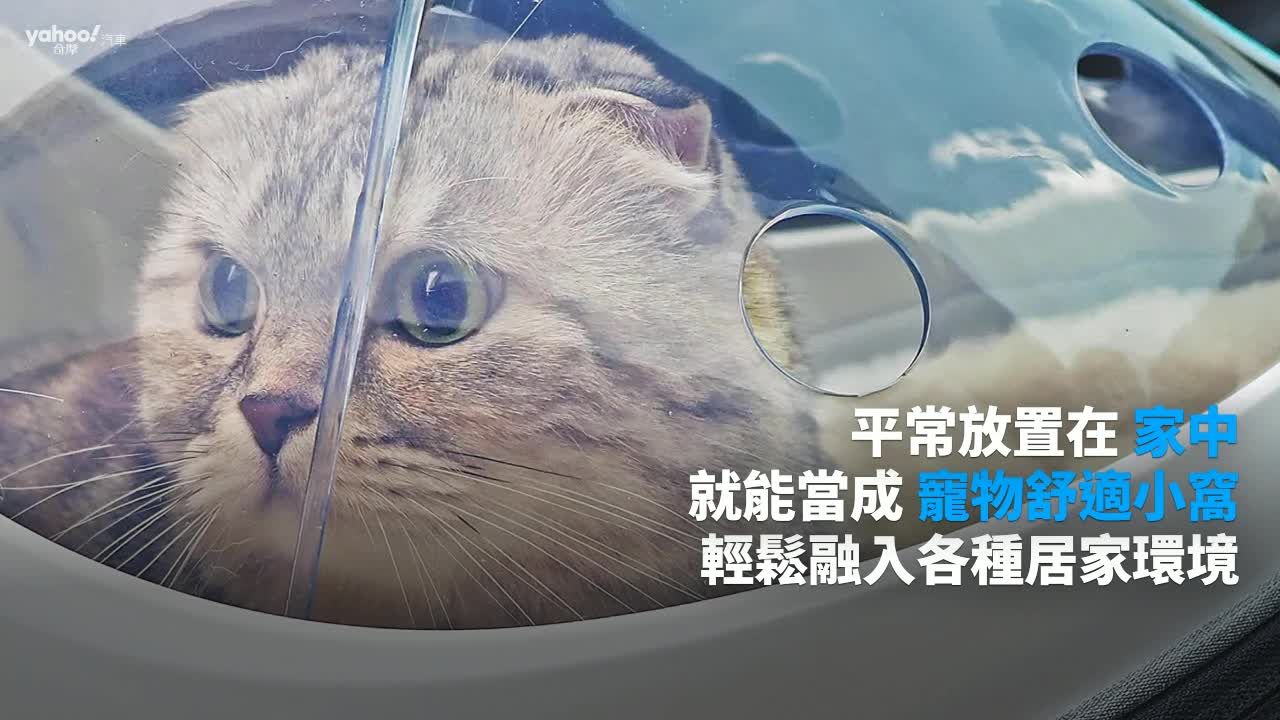 【開箱速報】帶著寵物看世界!JohoE二代原子太空梭舒適寵物背包好出門開箱!