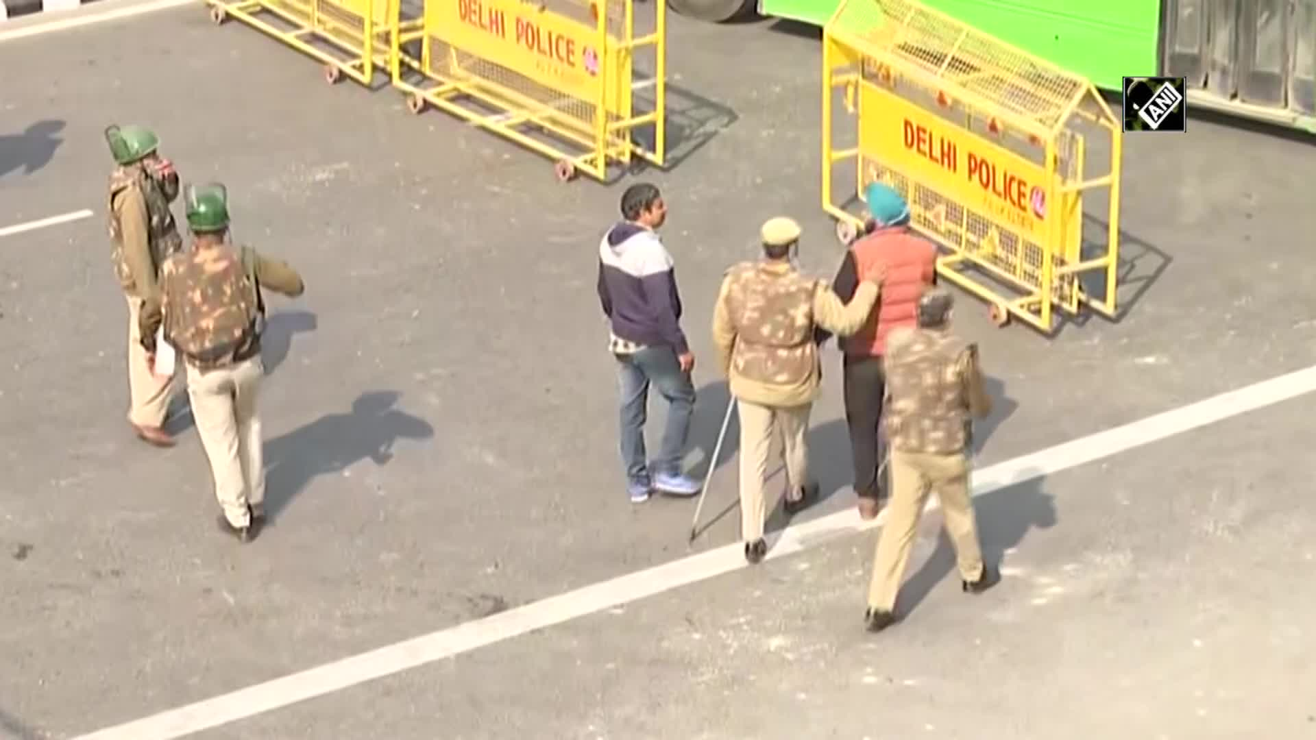 Tractor Rally: Protesters attack police personnel in Delhi's ITO