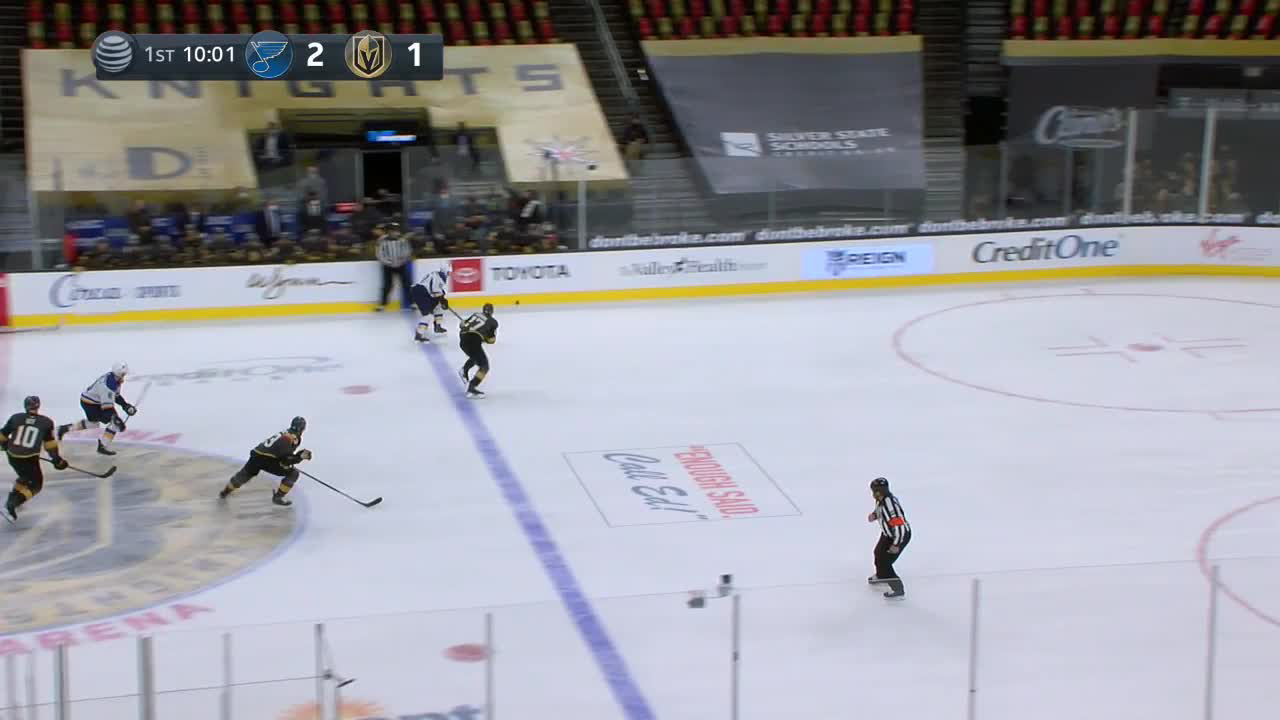 Jaden Schwartz with a Goal vs. Vegas Golden Knights