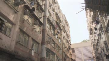 九龍城興仁街附近八幢大廈強檢 政府人員要求移走車輛