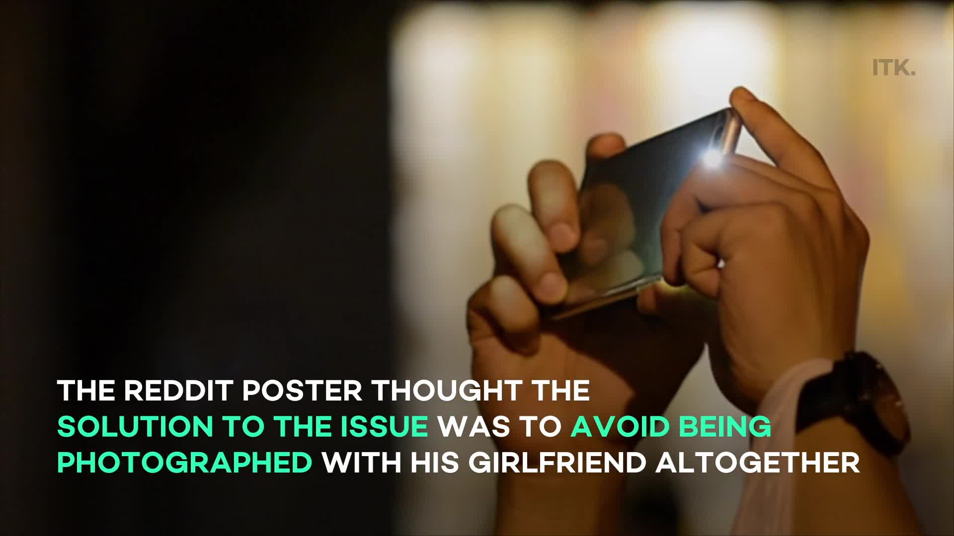 www.yahoo.com: Man stirs controversy with reason for 'refusing' to take photos with his girlfriend