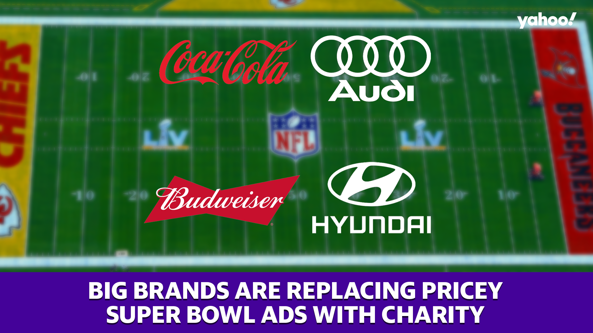 money.yahoo.com: Super Bowl 2021: Hyundai, Coca-Cola, and others replace pricey Super Bowl ads with charity