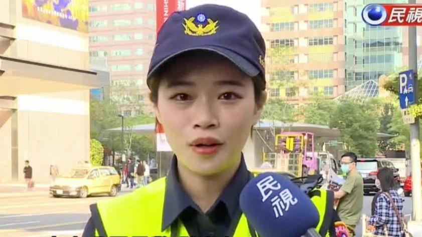 超正女警激似舒淇! 北市警「明星臉」宣導超吸睛