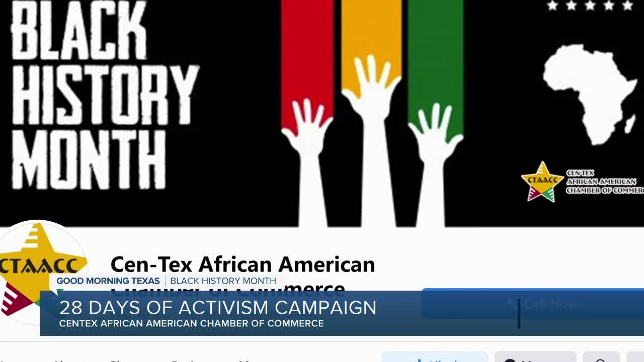 news.yahoo.com: Centex African American Chamber of Commerce: 28 days of activism campaign