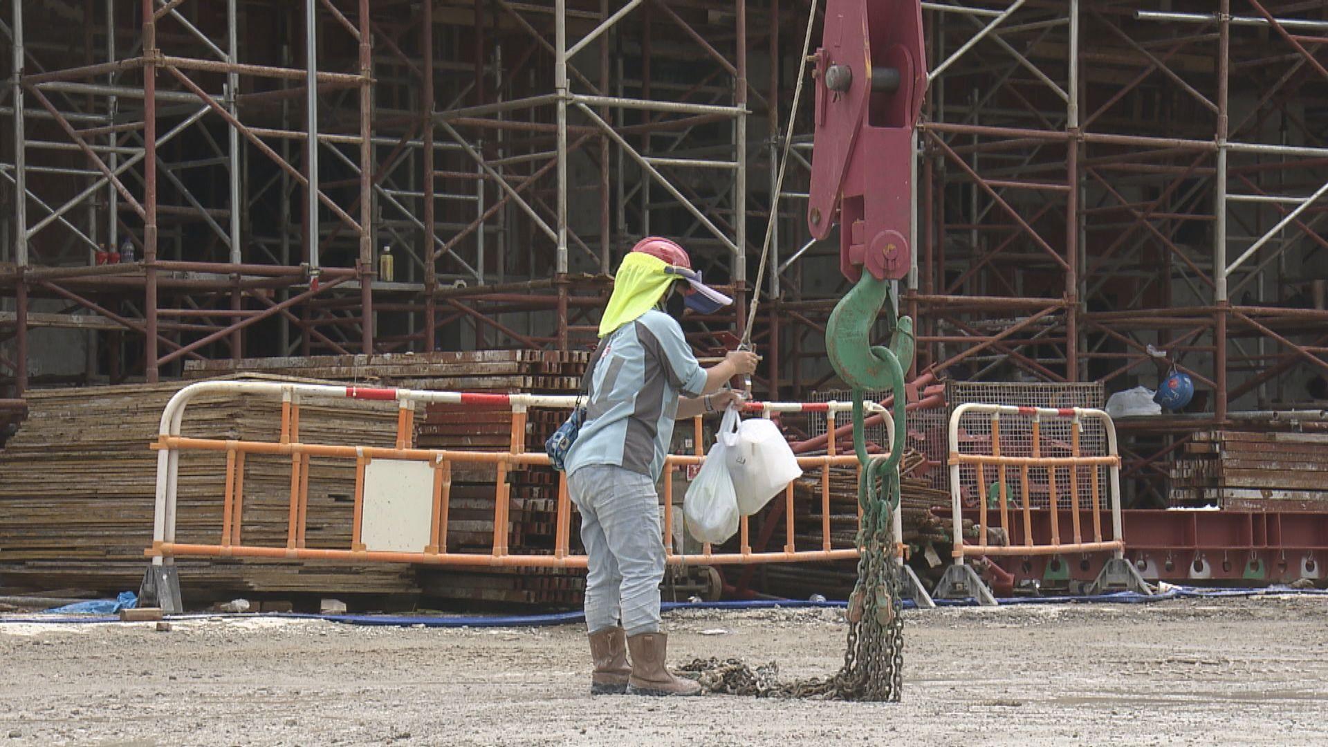 建造業總工會:只針對個別行業檢測意義不大