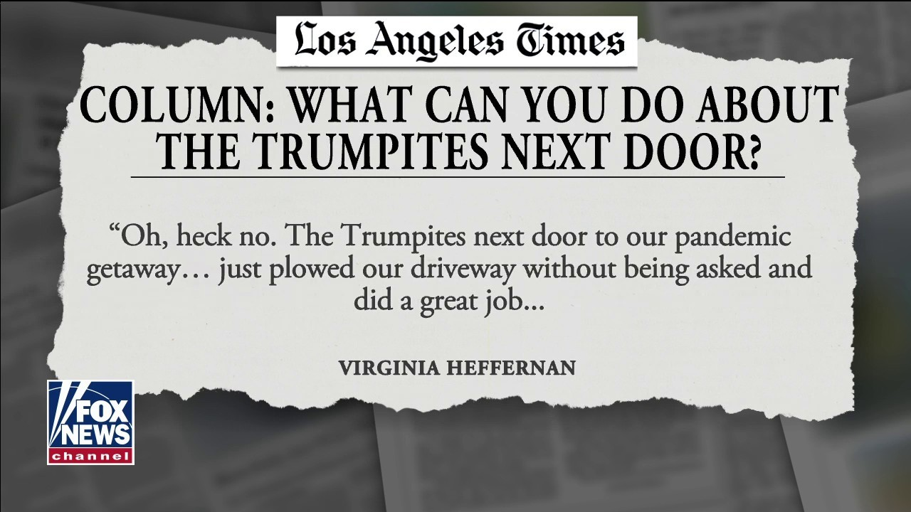 news.yahoo.com: Los Angeles Times columnist conflicted by 'Trumpite' neighbors plowing her driveway
