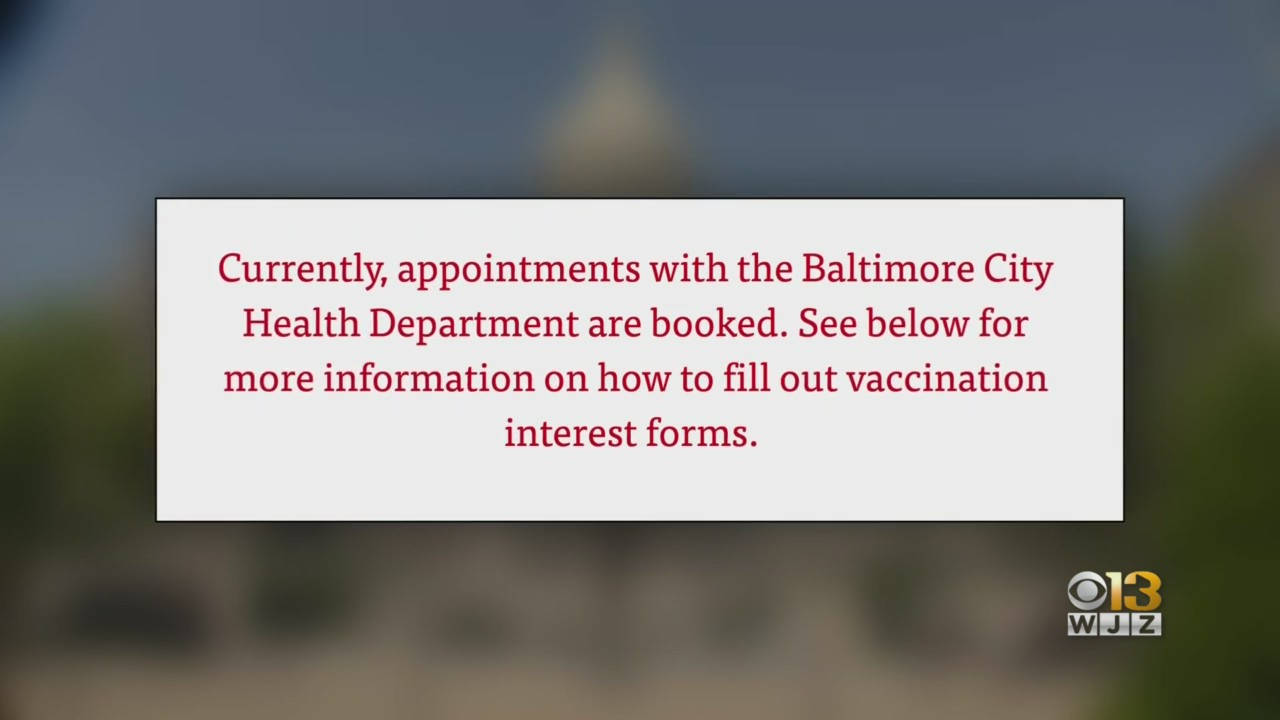 Baltimore Launches Mobile COVID-19 Vaccination Clinic Program - Yahoo News