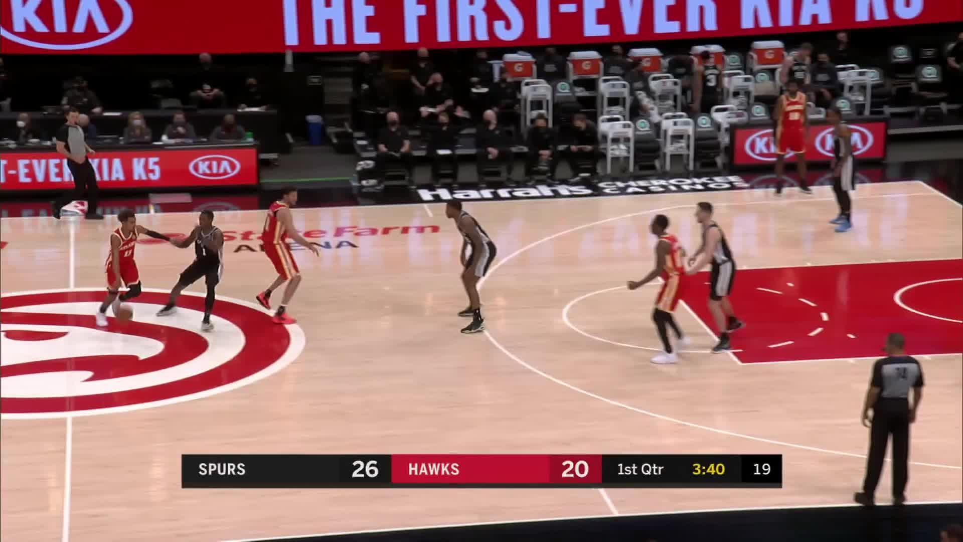 Game Recap Spurs 125 Hawks 114