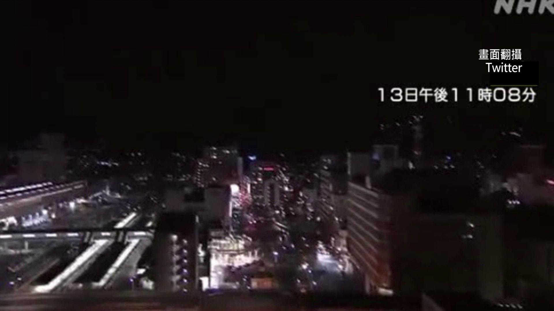 強震預兆? 日本7.3強震搖20秒...神祕「地光」瞬閃如白天