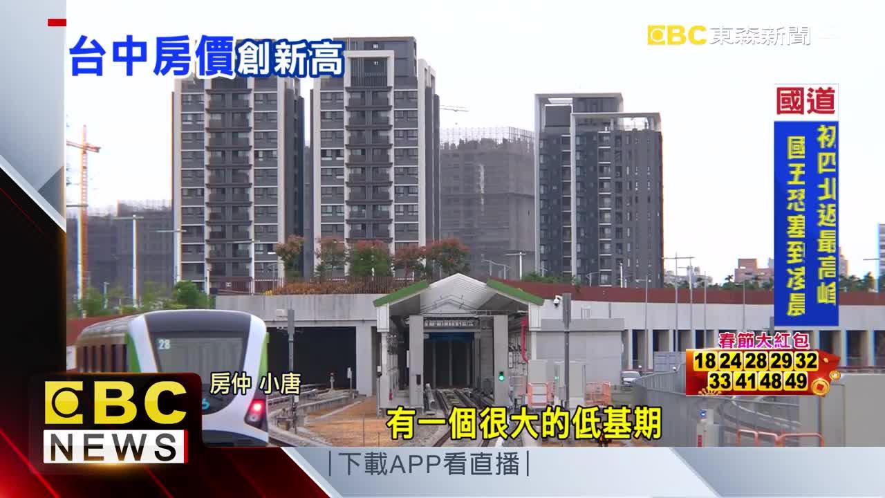 人口增長、交通建設 台中房價高這「三屯」最夯
