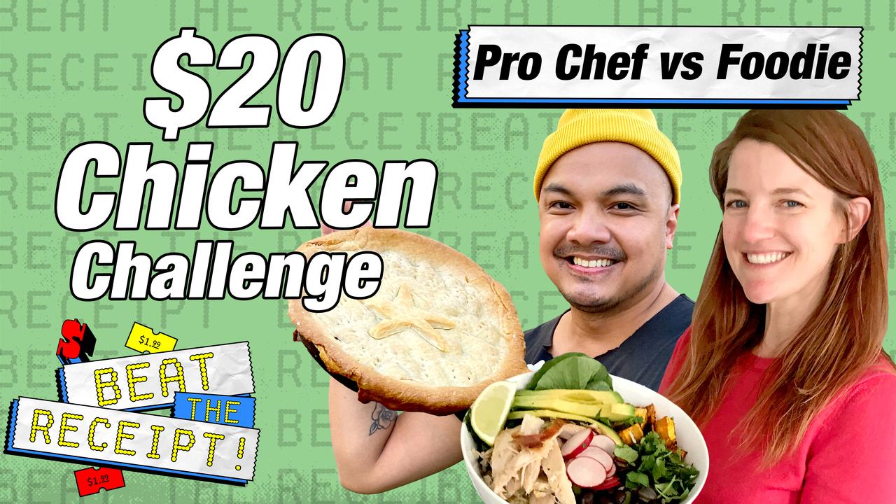 étourdissant  Mot-Clé $32 Budget Chicken Challenge Pro Chef vs Foodie   Beat the Receipt   Food  & Wine