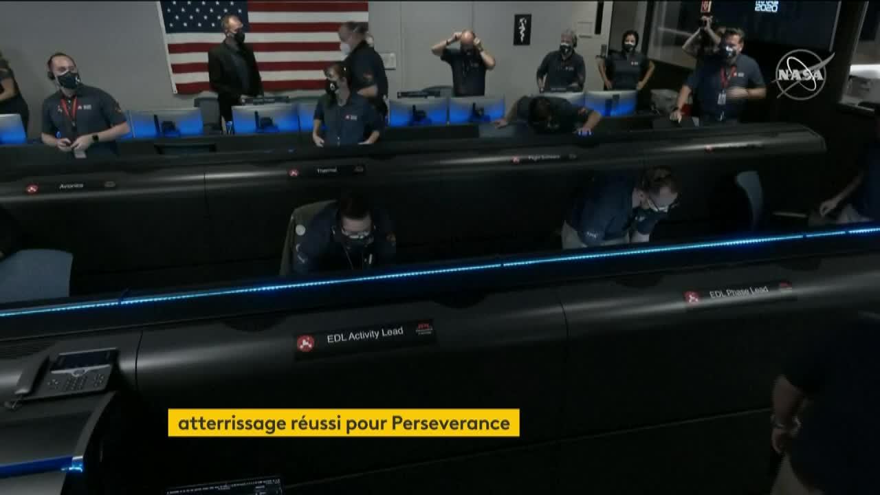 VIDEO. Mars : revivez l'atterrissage du robot Perseverance ...
