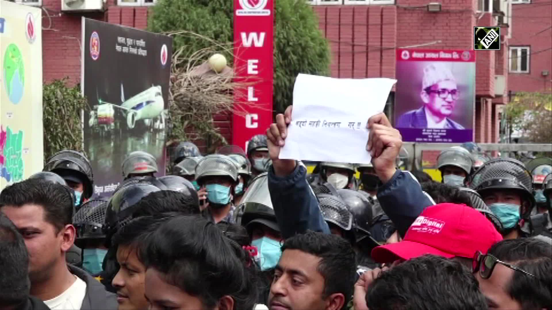 Students in Nepal protests against frequent spike in ...