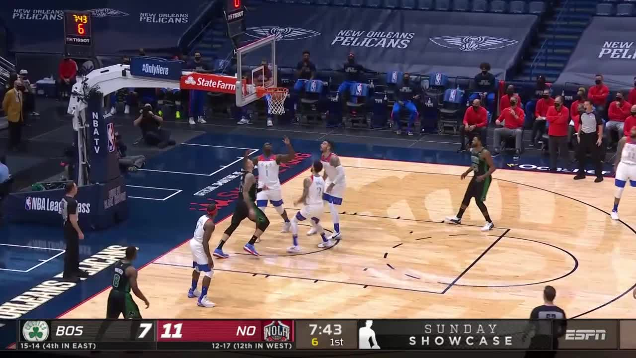 Daniel Theis With A 2 Pointer Vs The New Orleans Pelicans