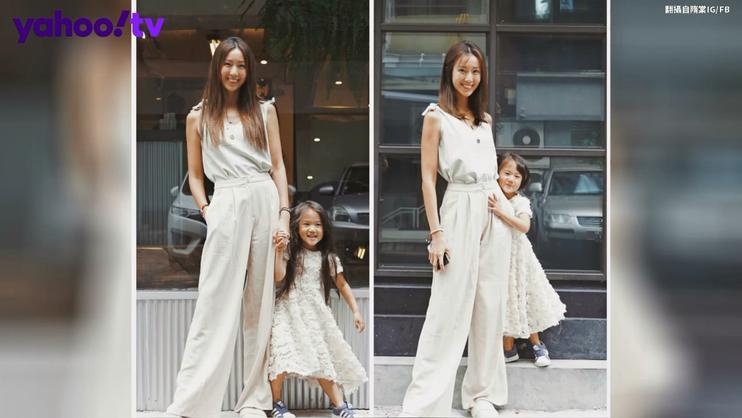 隋棠的女兒是神童?幫媽媽拍照根本專業攝影師