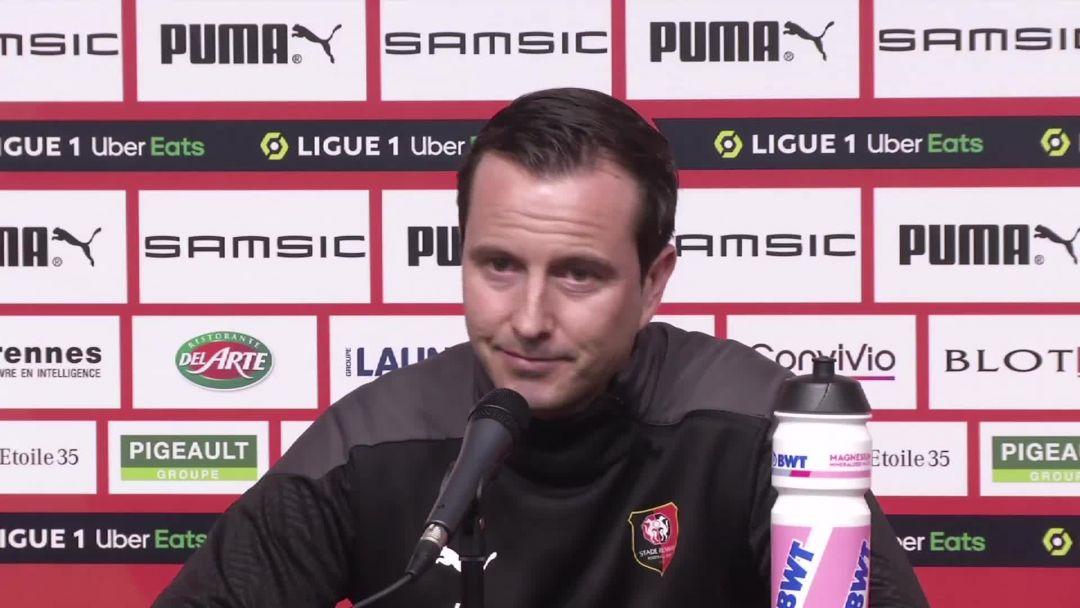 <b>Foot</b> - L1 - Rennes : Stéphan : «Je ne suis pas désemparé»