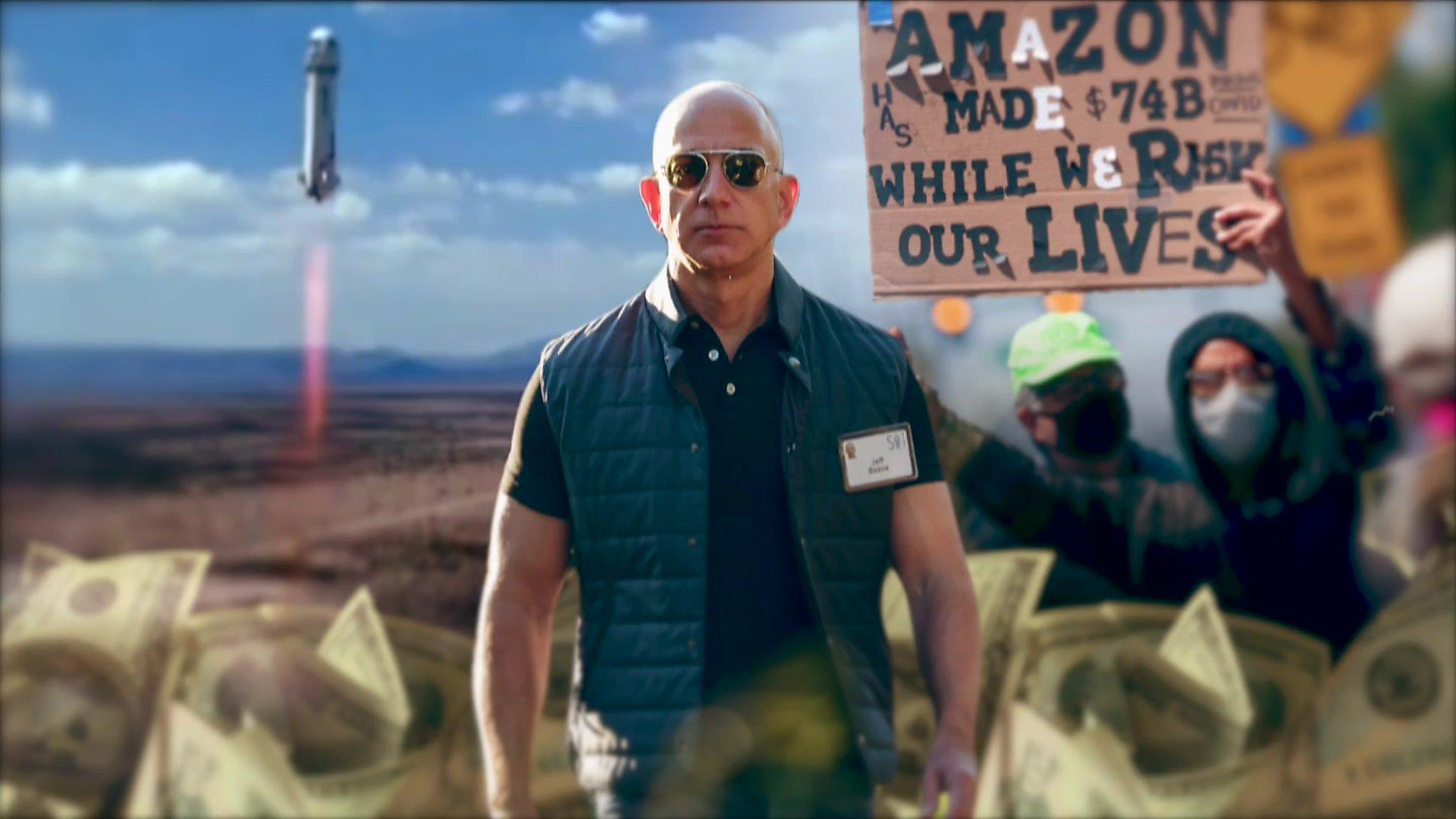 亞馬遜創辦人貝佐斯:千億富豪背後的五件事