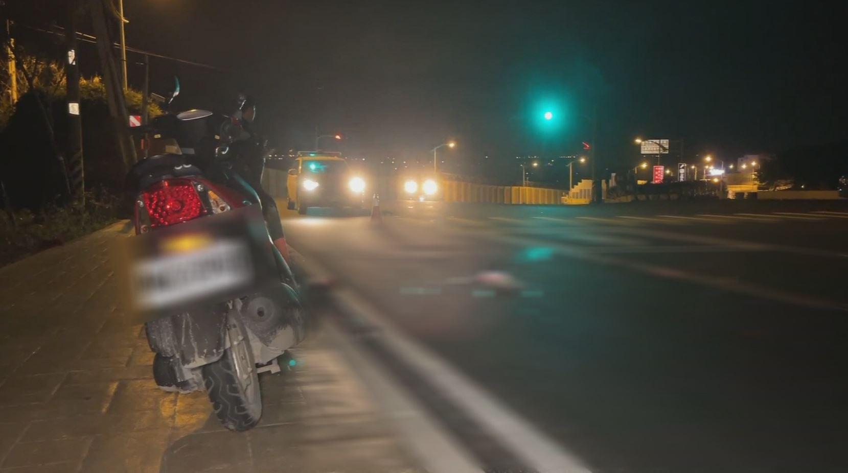 花蓮死亡車禍! 翁駕照遭吊銷仍上路 自撞休旅車噴飛亡