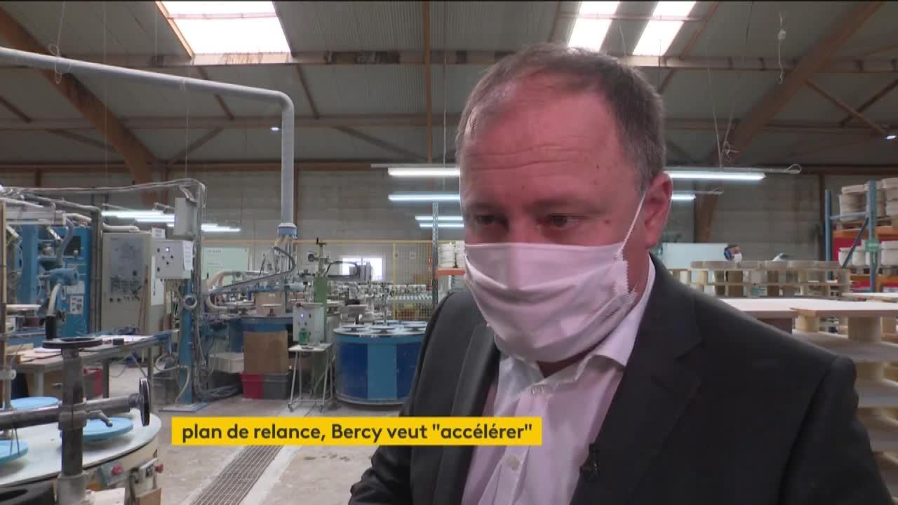 """Économie : Bercy veut """"accélérer"""" le plan de relance"""