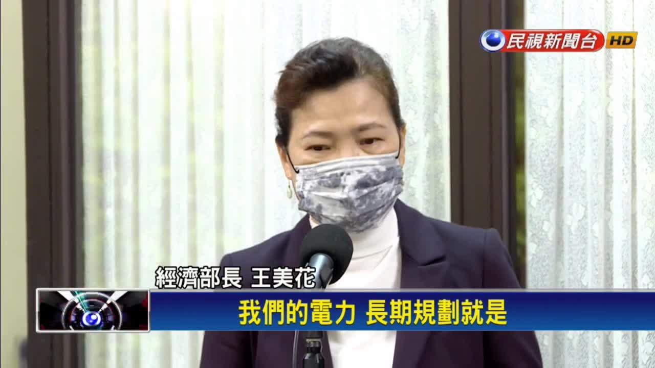 藻礁公投聲勢日增 王美花:穩定供電兼顧生態