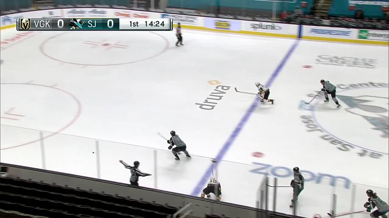 Reilly Smith with a Goal vs. San Jose Sharks