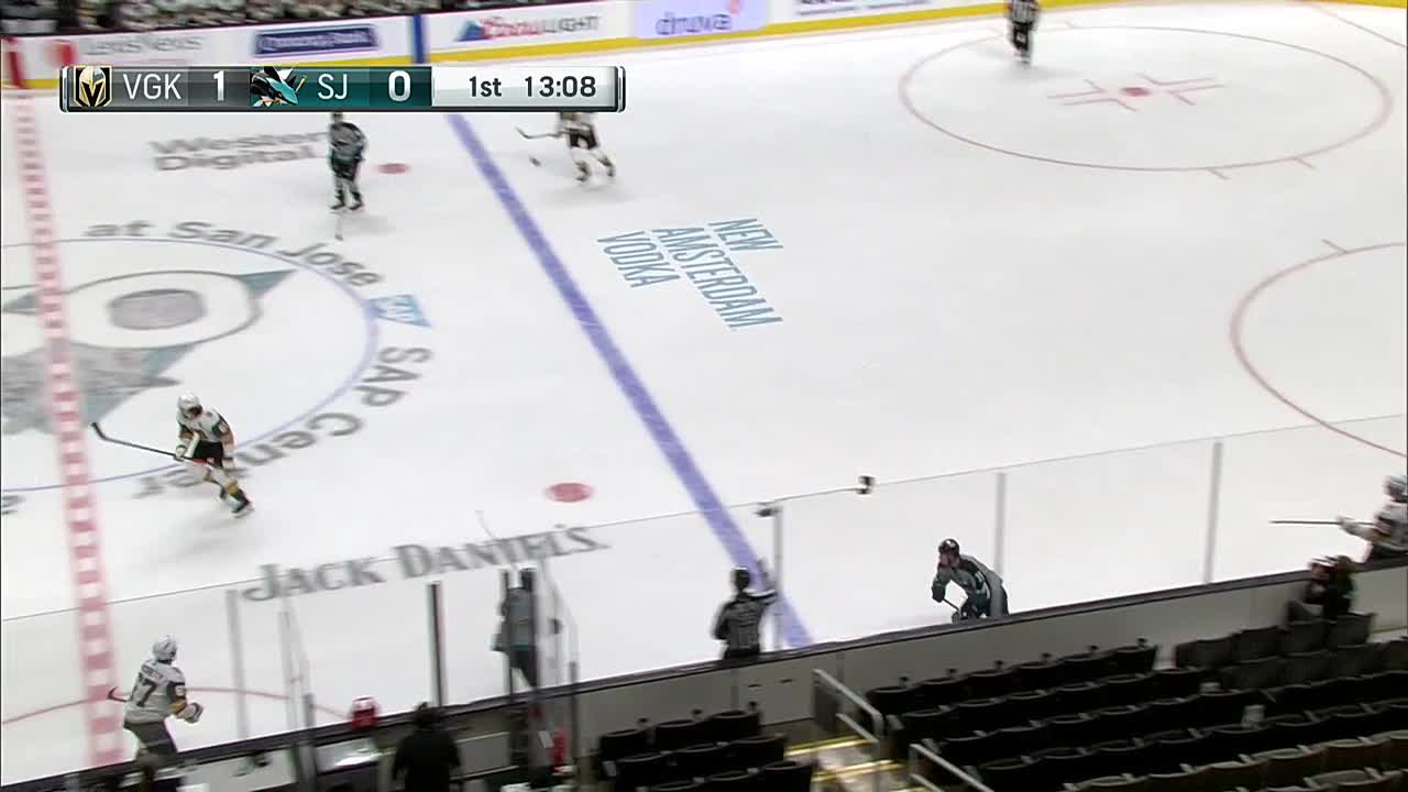 Chandler Stephenson with a Goal vs. San Jose Sharks