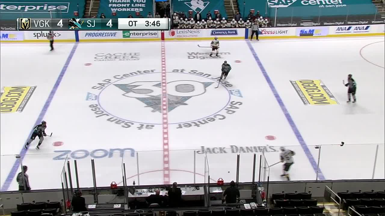 a Goal from San Jose Sharks vs. Vegas Golden Knights