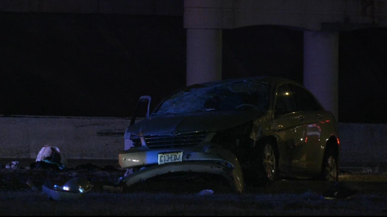 news.yahoo.com: Woman, child injured in rollover crash in Pennsauken