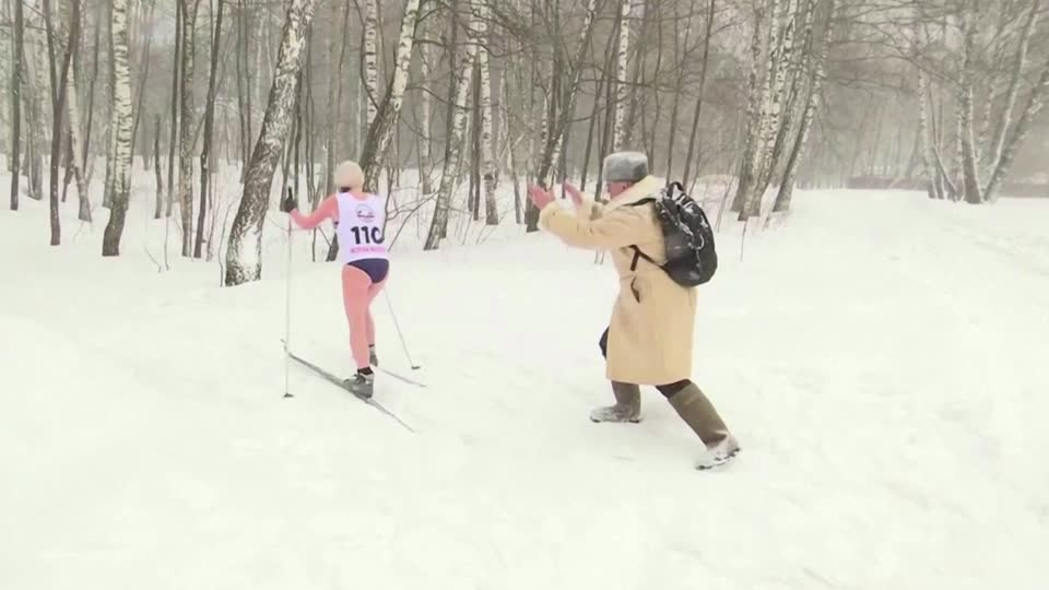 6047559d4cd7fe5e11ca0989 o U v2 Bikini clad Russians compete in cryathlon 8211 Yahoo News