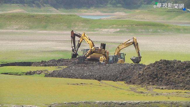 3年砸5億清淤 水庫淤積率不減反增