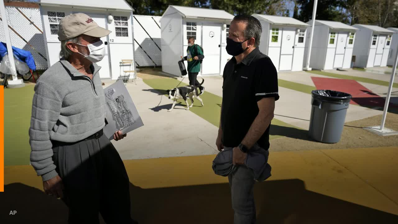 news.yahoo.com: Los Angeles opens its first tiny home village to ease homeless crisis